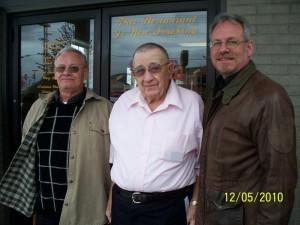 Dad (Samuel Linn), Granddad (Alvin Linn), Myself (Gary)